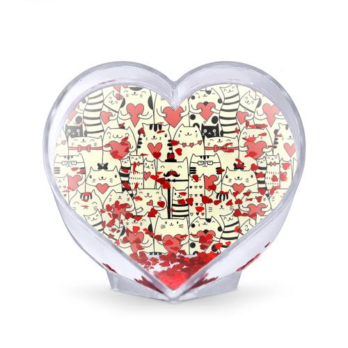 Сувенир Сердце  Фото 02, Любящие котики