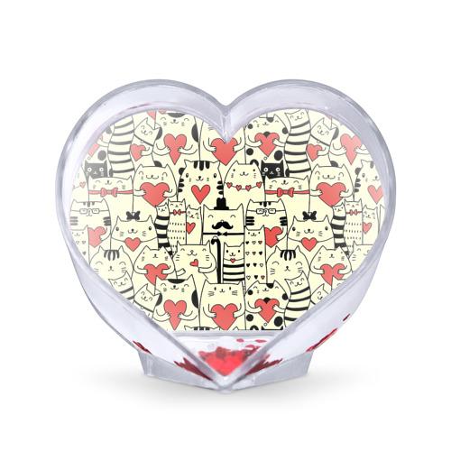 Сувенир Сердце  Фото 01, Любящие котики