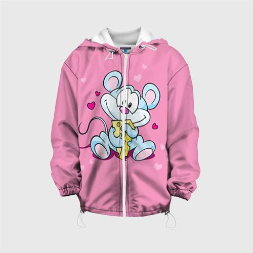 Детская куртка 3D  Фото 01, Мышка с сыром
