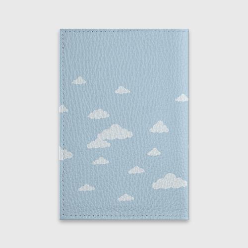 Обложка для паспорта матовая кожа  Фото 02, Влюбленные на шаре