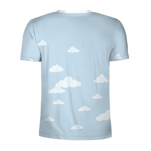 Мужская футболка 3D спортивная  Фото 02, Влюбленные на шаре