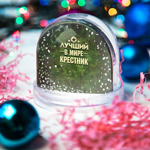 Водяной шар со снегом  Фото 03, Лучший крестник