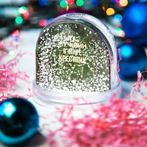 Водяной шар со снегом  Фото 04, Лучший крестник