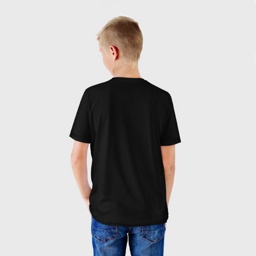 Детская футболка 3D  Фото 02, Защитник