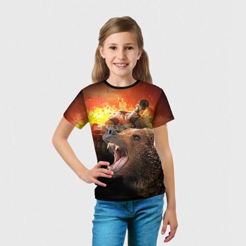 Детская футболка 3D  Фото 03, Защитник