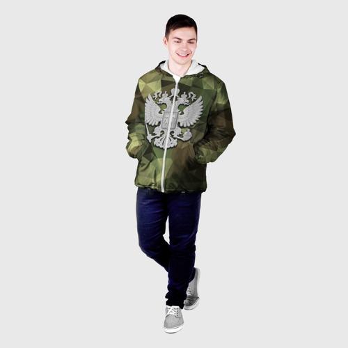 Мужская куртка 3D  Фото 03, Камуфляж и герб