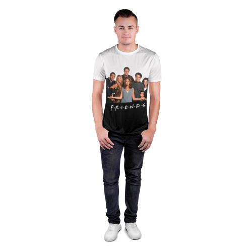 Мужская футболка 3D спортивная  Фото 04, Друзья