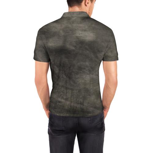 Мужская рубашка поло 3D  Фото 04, Мопс