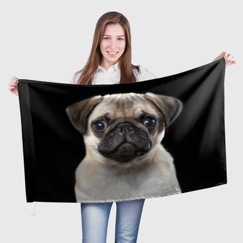 Флаг 3D  Фото 01, Мопс