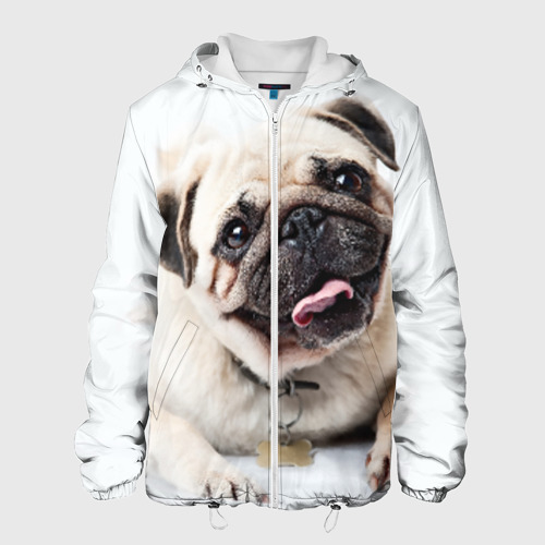 Мужская куртка 3D  Фото 01, Мопс