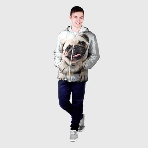 Мужская куртка 3D  Фото 03, Мопс