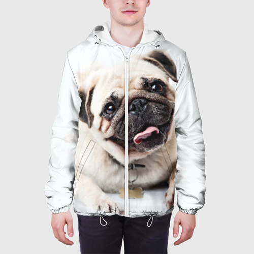 Мужская куртка 3D  Фото 04, Мопс