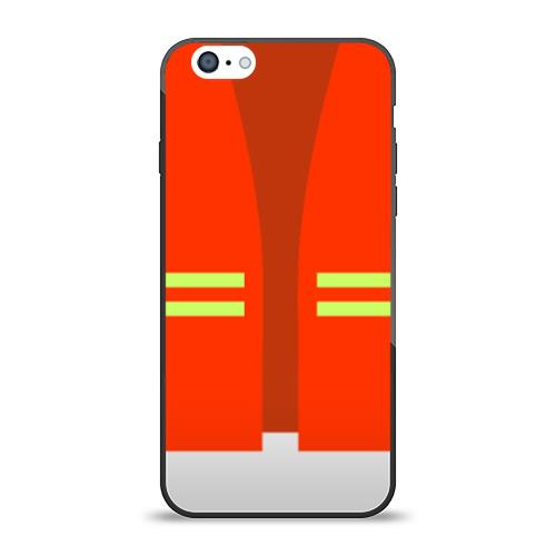 Чехол для Apple iPhone 6 силиконовый глянцевый Жилет безопасности
