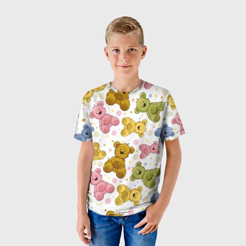 Детская футболка 3D Медвежата