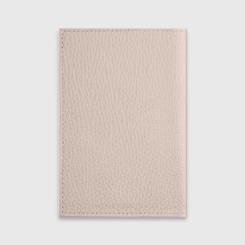 Обложка для паспорта матовая кожа  Фото 02, teddy bear