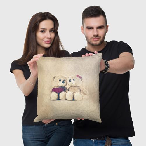 Подушка 3D  Фото 05, Love teddy bears
