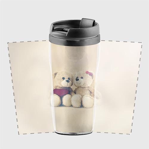 Термокружка-непроливайка Love teddy bears Фото 01