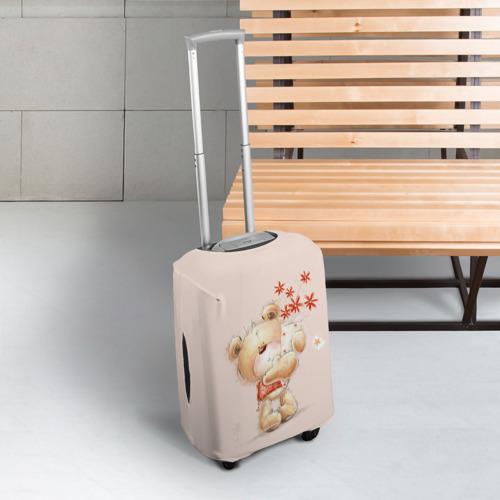 Чехол для чемодана 3D  Фото 03, Медвежонок Тедди