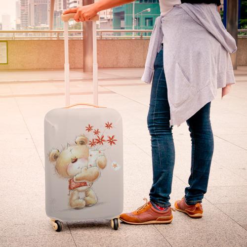 Чехол для чемодана 3D  Фото 04, Медвежонок Тедди