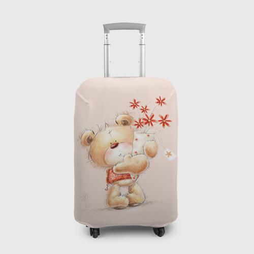 Чехол для чемодана 3D  Фото 01, Медвежонок Тедди