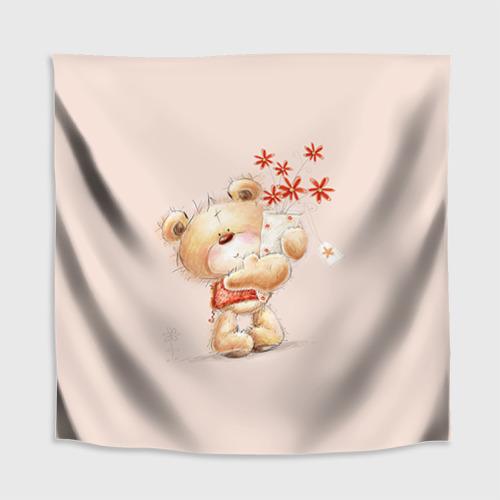 Скатерть 3D  Фото 02, Медвежонок Тедди
