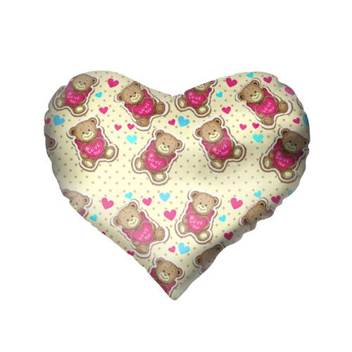 Подушка 3D сердце  Фото 02, Мишки