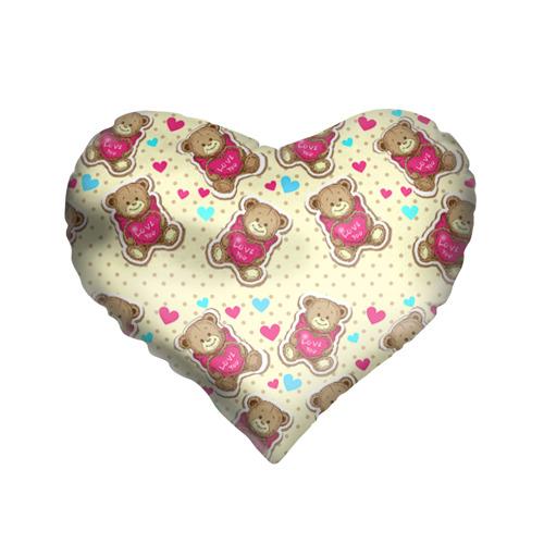 Подушка 3D сердце  Фото 01, Мишки