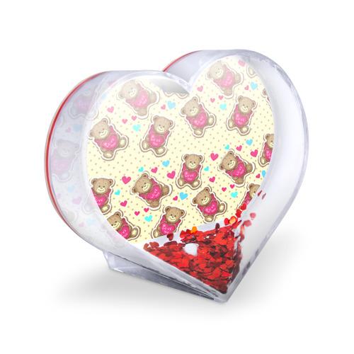 Сувенир Сердце  Фото 03, Мишки