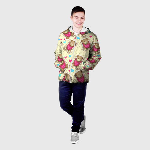 Мужская куртка 3D  Фото 03, Мишки