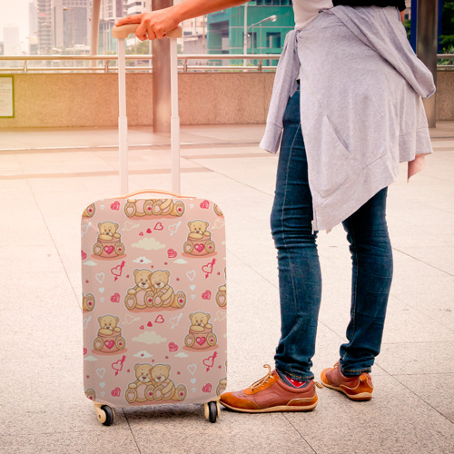 Чехол для чемодана 3D  Фото 04, Love Teddies