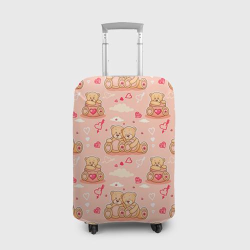 Чехол для чемодана 3D  Фото 01, Love Teddies