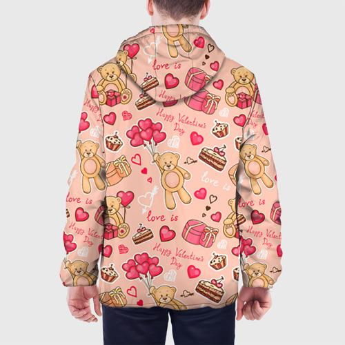 Мужская куртка 3D  Фото 05, Медвежата