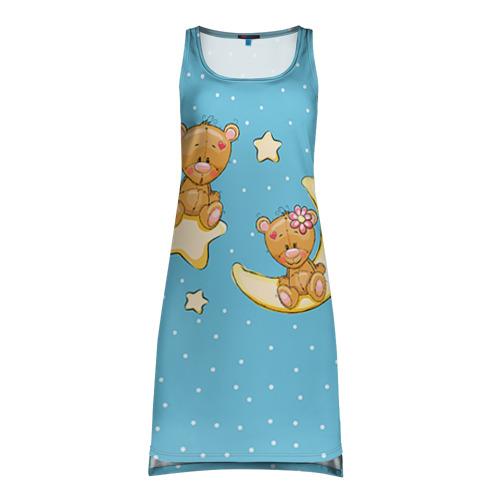 Платье-майка 3D Медведики