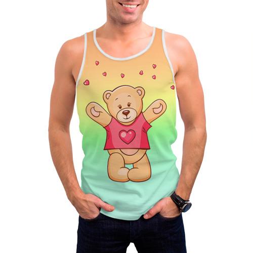 Мужская майка 3D  Фото 03, Funny Bear