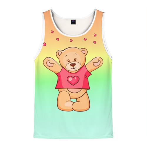 Мужская майка 3D  Фото 01, Funny Bear