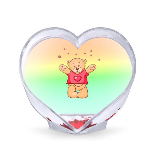 Сувенир Сердце  Фото 01, Funny Bear