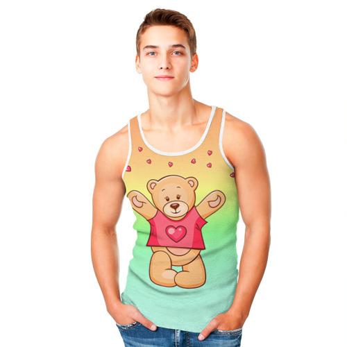 Мужская майка 3D  Фото 05, Funny Bear