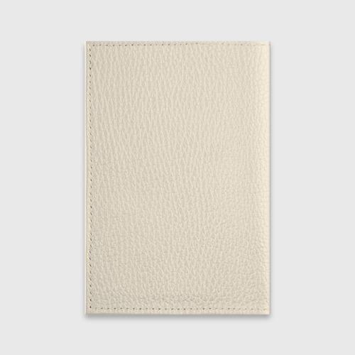 Обложка для паспорта матовая кожа  Фото 02, Медвежонок с сердечками
