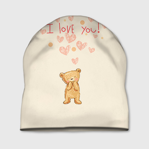 Медвежонок с сердечками
