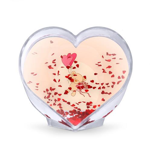 Сувенир Сердце  Фото 02, Мишка на воздушном шарике