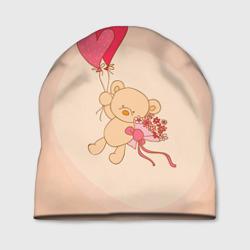 Мишка на воздушном шарике