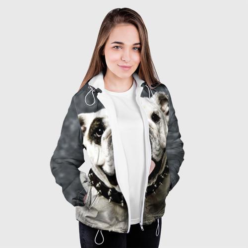 Женская куртка 3D  Фото 04, Английский бульдог