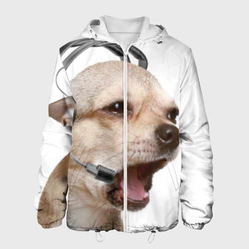 Мужская куртка 3D  Фото 01, Чихуахуа