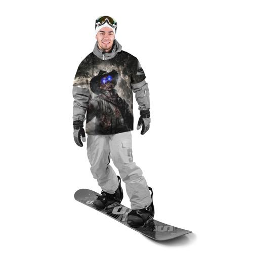 Накидка на куртку 3D  Фото 03, Зомби