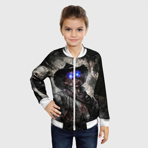 Детский бомбер 3D  Фото 06, Зомби