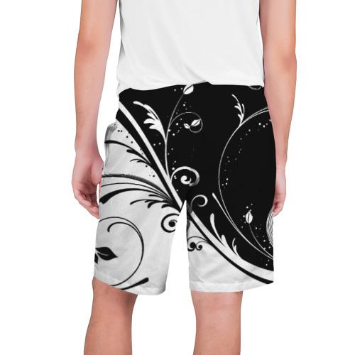 Мужские шорты 3D Завитки Фото 01