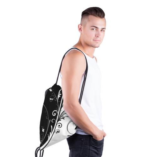 Рюкзак-мешок 3D Завитки Фото 01
