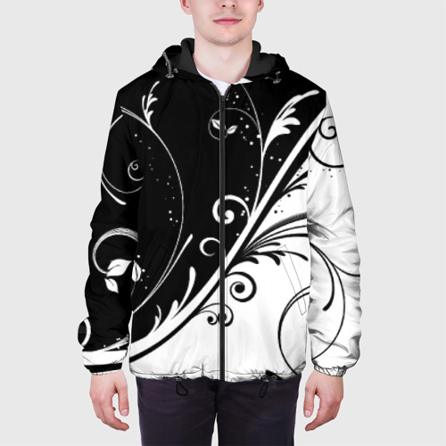 Мужская куртка 3D Завитки Фото 01