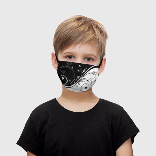 Детская маска (+5 фильтров) Завитки Фото 01