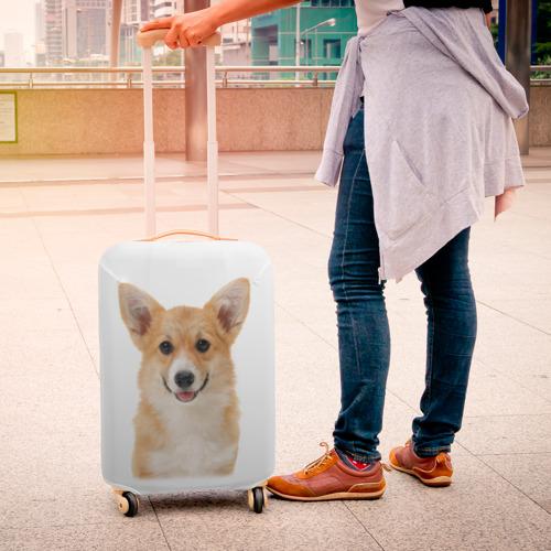 Чехол для чемодана 3D Пемброк-вельш-корги Фото 01
